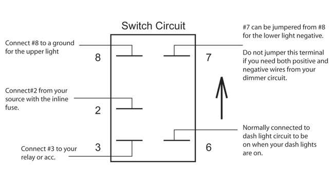 Wiring Diagram Illuminated Rocker Switch : Lighted rocker switch wiring diagram iron