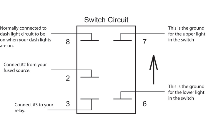 how to wire a rocker switch diagram Wiring Diagram and Schematic – Lighted Momentary Switch Wiring Diagram